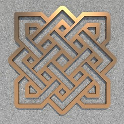 FENGSHUI_Endless_knot_Copper