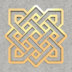 FENGSHUI_Endless_knot_Gold