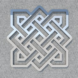 FENGSHUI_Endless_knot_Silver