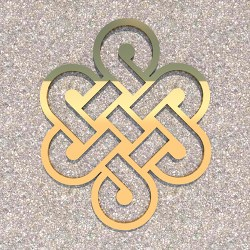 FENGSHUI_Eternal_knot_Gold-1